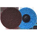 624 - Disco de fibra de cambio rápido marrón Grano medio