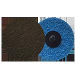 625 - Disco de fibra de cambio rápido café Grano grueso