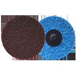 626 - Disco de fibra de cambio rápido marrón Grano medio