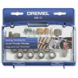 DREMEL Kit para Lijar y Esmerilar 31 Pzas. 686-01