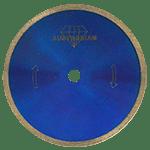 802- Disco Diamante De Rin Continuo Color Azul