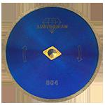 804 - Disco de diamante azul rin continuo Uso General