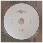 813 - Disco de diamante blanco rin continuo Porcelanato