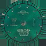 817 - Disco de diamante verde segmentado Granito