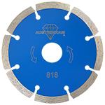 818 - Disco de diamante azul segmentado Uso General