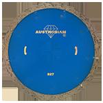 827 - Disco de diamante azul segmentado Uso General