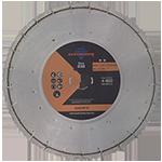 830 - Disco de diamante naranja segmentado Corte de concreto curado