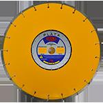833 - Disco de diamante amarillo segmentado Asfalto