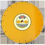 838 - Disco de diamante amarillo segmentado Asfalto