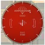 841 - Disco de diamante rojo segmentado Cantera