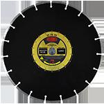 842 - Disco de diamante negro segmentado Refractario