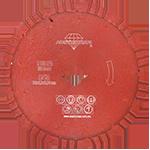 843 - Disco de diamante rojo segmentado Cantera