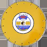 845 - Disco de diamante amarillo segmentado Asfalto