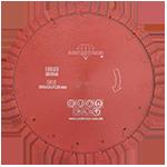 846 - Disco de diamante rojo segmentado Cantera