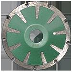 848 - Disco de diamante verde segmentado Granito