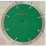 850 - Disco de diamante verde segmentado Granito