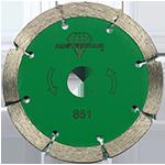 851 - Disco de diamante verde segmentado Granito