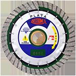 866 - Disco de diamante verde turbo Granito