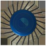 867 - Copa de diamante azul turbo Uso general