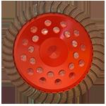 885 - Copa de diamante roja turbo Cantera