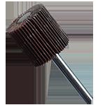 905 - Rueda flap con vástago grano 60