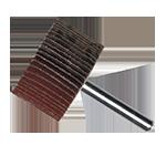 922 - Rueda flap Xtreme Power con vástago grano 80