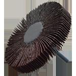 923 - Rueda flap con vástago grano 80
