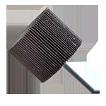 928 - Rueda flap con vástago grano 60