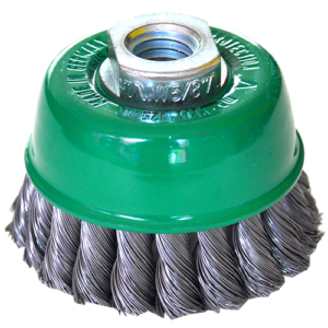 965-Cepillo tipo copa de Alambre trenzado