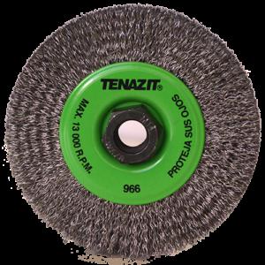 966 - Cepillo circular de Alambre ondulado Chip-cut