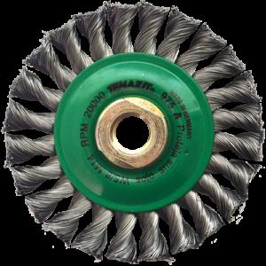 975 - Cepillo circular de Alambre trenzado
