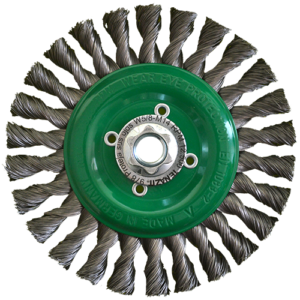 978 - Cepillo circular de Alambre trenzado