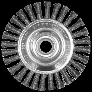 984 - Cepillo circular de Alambre trenzado