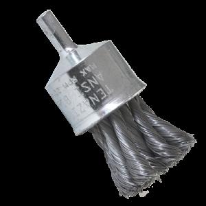 987 - Cepillo de Alambre trenzado con vastago