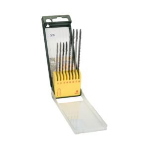 2607019458-Set con 8 seguetas de vástago T para madera, metal, plástico