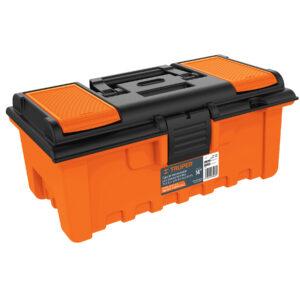 Caja plástica 14' con compartimentos