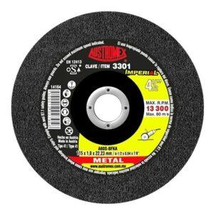 Disco de corte para acero al carbón de 115 x 1.0 x 22.23, IMPERIAL