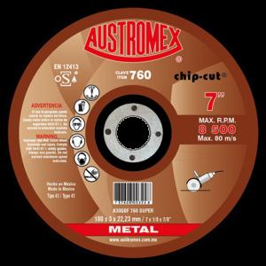 Disco para corte de metal