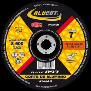 Disco para corte de aluminio