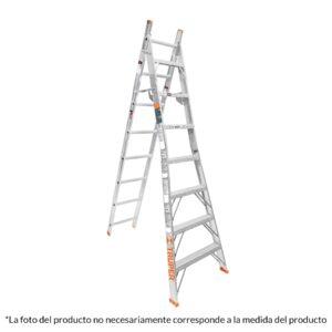 ESCALERA DE COMBINACIÓN, TIPO LL, 15 ESCALONES