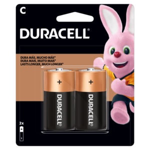 "DURACELL PILA TIPO ""C"""