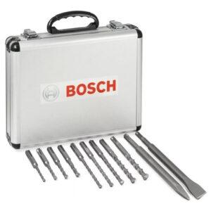 Maletin Bosch Sds Plus 9 Brocas Y 2 Cinceles 2608578765