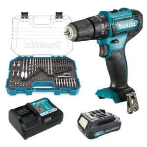 kit Makita  Rotomartillo inalambrico, 1 bateria de 1.5 Ah cargador HP333DWYX4