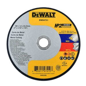 DISCO DE CORTE METAL DEWALT DW84701 7 PULG