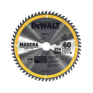 DISCO DE SIERRA DEWALT DWA03120 60T 10 PULG