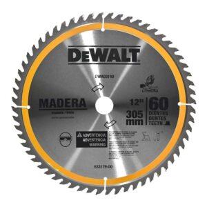 DISCO DE SIERRA DEWALT DWA03140 12 PULG