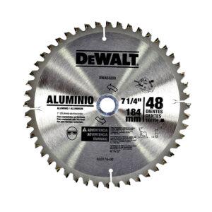 DISCO DE SIERRA DEWALT DWA03200 48T 7 1/4 PULG