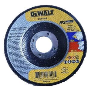 Disco Corte Metal Acero Inox Dewalt DW84403