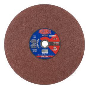 """DISCO DE CORTE PARA METAL DE 14"""" AUSTROMEX 733 caja con 25 discos"""